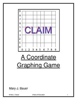Claim: A Coordinate Graphing Game