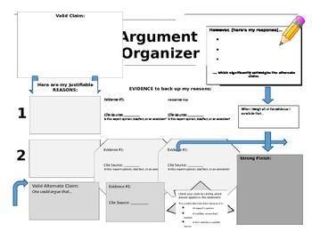 Research/Argument Graphic Organizer - NYS Common Core Regents