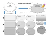 Claim - Counterclaim Graphic Organizer - NYS Common Core Regents