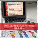 Claim, Counterclaim, and Evidence Boardgame