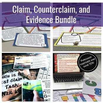 Claim, Counterclaim, and Evidence Bundle!!!!