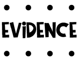 Claim Evidence Reasoning Bulletin Board and Sentence Starters