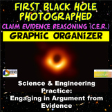Claim Evidence Reasoning (CER) ESS1.A PS4.B 1st Photograph of Black Hole