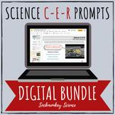 Claim Evidence Reasoning (CER) Science DIGITAL Bundle for