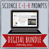 Claim Evidence Reasoning: Distance Learning Science CER BUNDLE Google Classroom