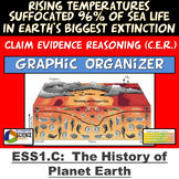 Claim Evidence Reasoning ESS1.C History of Earth Permian Triassic Extinction