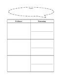 Claim Evidence Reasoning Graphic Organizer (with Modified Version)