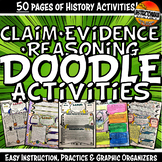 Claim Evidence Reasoning History Doodle Style Notes Instruction & Organizers