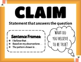 Claim-Evidence-Reasoning Poster
