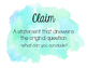 Claim Evidence Reasoning Posters
