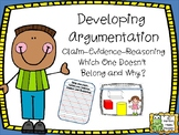 Argumentation - Which Shape Doesn't Belong and Why?