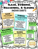Claim, Evidence, and Reasoning (or Elaboration) Anchor Charts