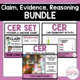 Claim Evidence and Reasoning CER Bundle