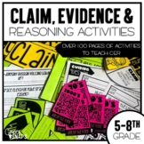 Claim, Evidence, and Reasoning Science Mini Unit