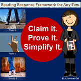 Claim It. Prove It. Simplify It. -  Writing Responses that