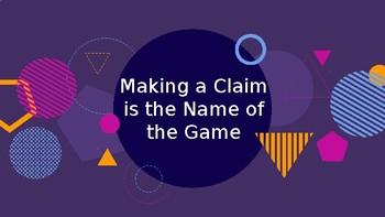 Claim Presentation
