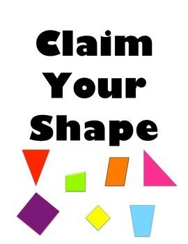 Claim Your Shape