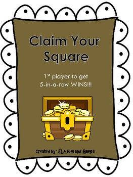 Claim Your Square - Proper Noun Edition