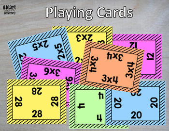 Multiplication Facts Game- Claim It