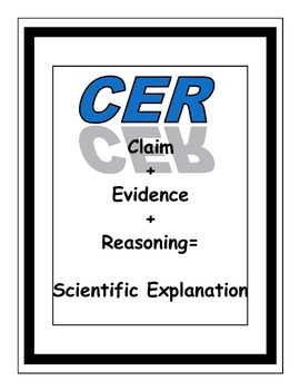 Claims, Evidence, Reasoning Anchor Charts