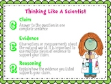 Claims Evidence Reasoning Poster