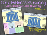 Claims Evidence Reasoning Quick Reference Writing Guide