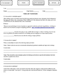 Claims and Counterclaims Post-Assessment