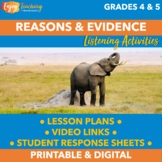 Claims and Evidence in Speeches About Animals SL.4.3