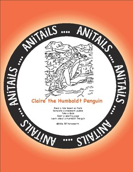 ANiTAiLS: Claire the Humboldt Penguin Story, Crossword, Coloring page and more