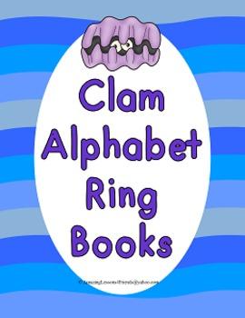 Clam Alphabet Ring Books (Commom Core)