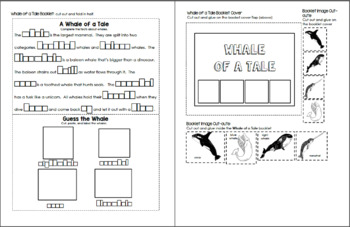 WISH For a FISH (Sea Creatures and Ocean Zones) - Little Lapbooks
