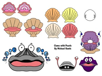 Clam Pearl Seashell PNG, Clipart, Baking Cup, Blue, Cartoon, Clam, Color  Free PNG Download