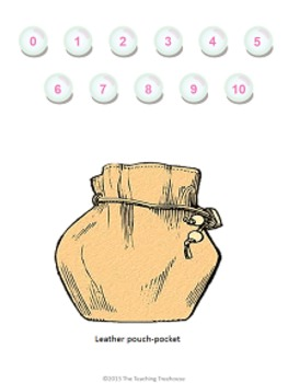 Clams & Pearls Dividing by 4 File Folder Game ~ Division Activity/Center