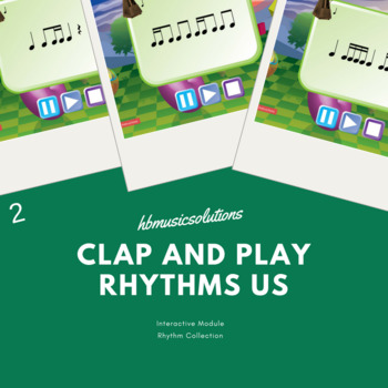 Clap And Play Rhythm Level 2 US Version