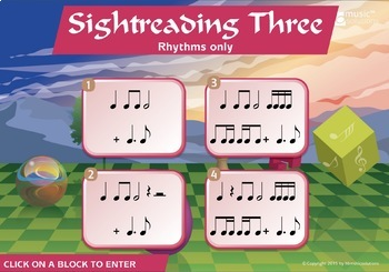Clap And Play Rhythm Level 3 Distance Learning Digital Music Activity US Version