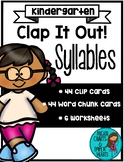 Clap It Out! Syllable Activities and Worksheets