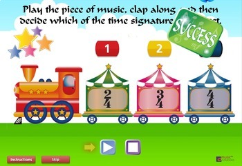 Clap The Beat Music Interactive Aural Training Game