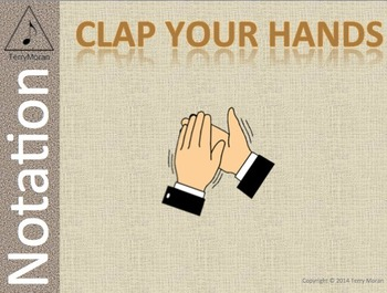 Clap Your Hands - Notation Pack