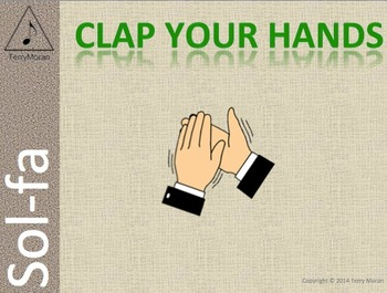 Clap Your Hands - Sol-fa Pack