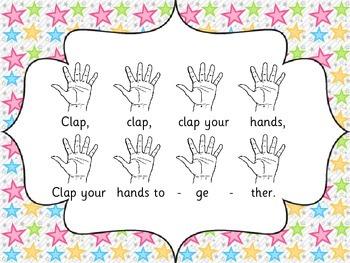 Clap Your Hands- rhythm and song to teach steady beat, rhythm and sol mi