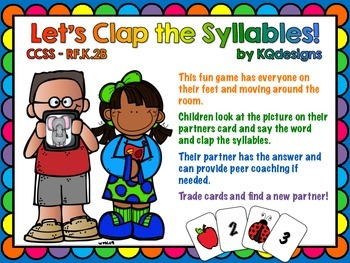 Clap and Count the Syllables in Spoken Words