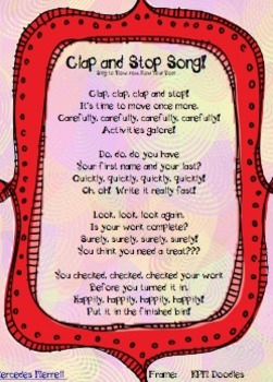 Clap and Stop Song!
