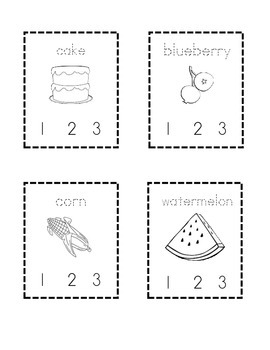 Clap the Syllables: Food Edition