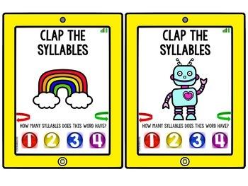 Clap the Syllables {Tablet Apptivity}
