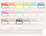 Clapboard Clipart; Movie Theater, Clap Board, Film, Director
