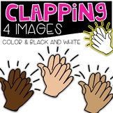 Clapping Clipart {Cutie Clips Clipart}