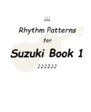 Clapping Exercises & Rhythm Patterns for Suzuki Book 1 (Violin)