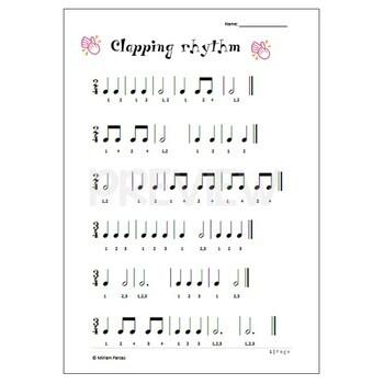 Clapping rhythm