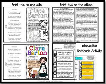 Clara Barton: Biography Reading Passage: Civil War