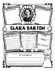 Clara Barton Research Organizers for Women's History Month